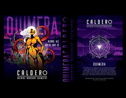 Caldero Brewing New Labels