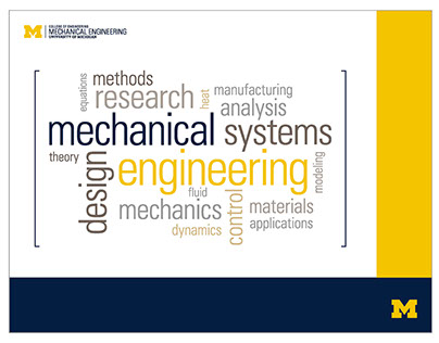 Mechanical Engineering at University of Michigan