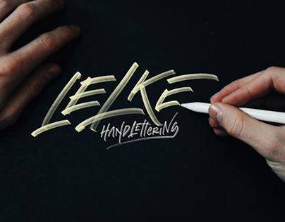 LELKE // logo type