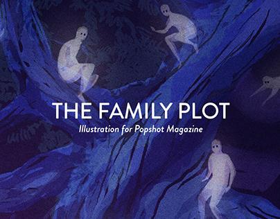 The Family Plot Illustration for Popshot Magazine