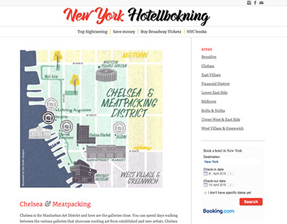 NEW YORK HOTELL BOKNING