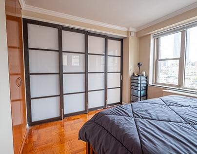 Apartment Bedroom Sliding Wall Construction