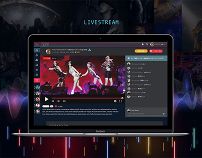 Solution for Artist search and livestreaming