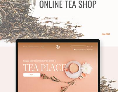 E-Commerce Tea Shop