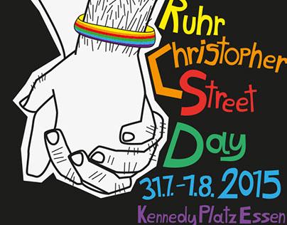 Ruhr.CSD 2015 Plakat