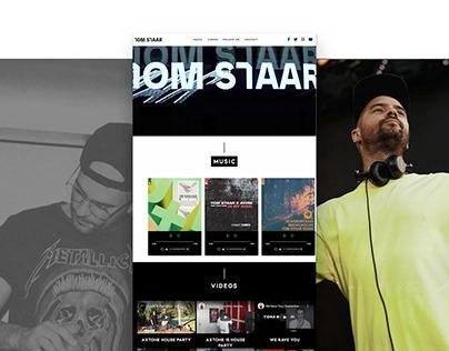 Tom Staar Website Design