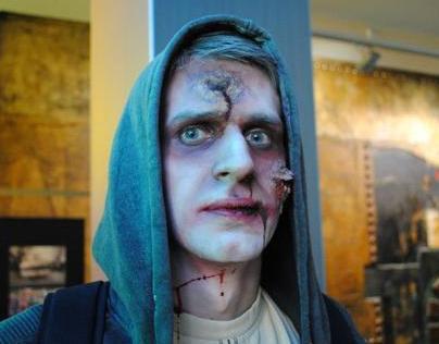 """Belgrade zombie walk"" 7. Festival of Serbian Fantastic"