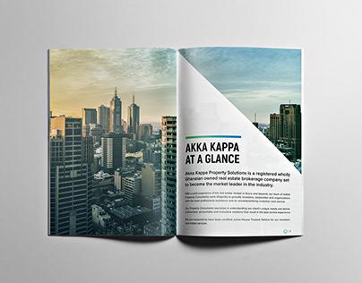 Akka Kappa Brochure Design