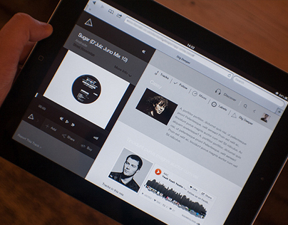 Electronic DJ Web Application