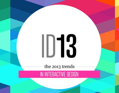 ID13 - trends in interactive design