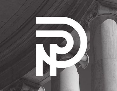 Papanikolaou Dimitri / Lawyer / Logotype / Print