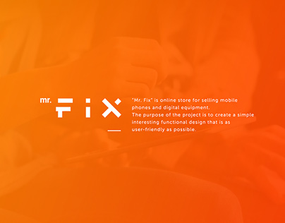 Mr. Fix on-line shop