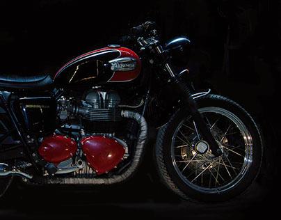 """Triumph Bonneville """"Red"""""""