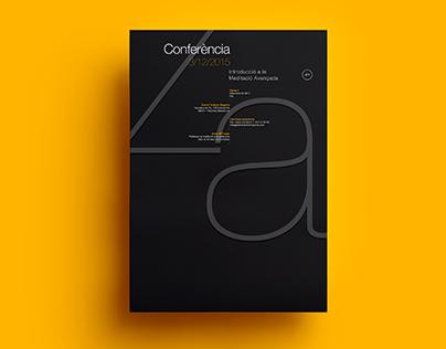 Poster by Xavier Esclusa Trias /EM/ Typography