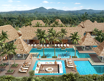 Luxury hotel, spa and country club in Mauritius