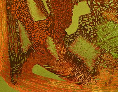 "Inscape, Oil on Museum Board, 8x10"" 2017"