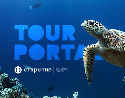 Tour portal – Open bank
