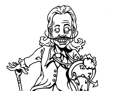 Artist Cartoons for Amateur Magazine