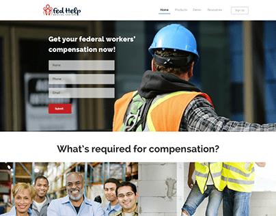 Fed Help Website Design