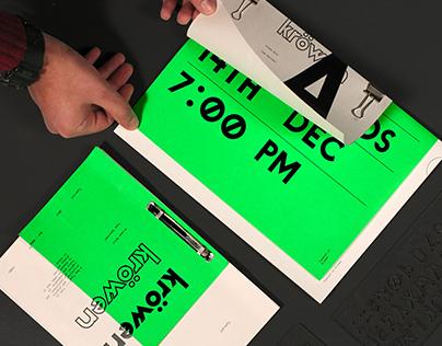 Kröwen Bold Typeface
