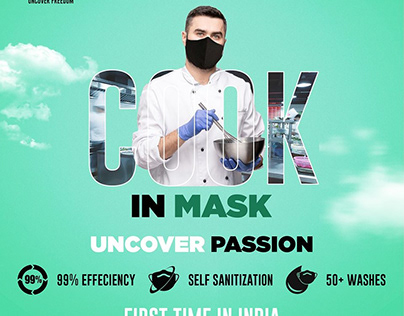 Cotton Face Mask for Men