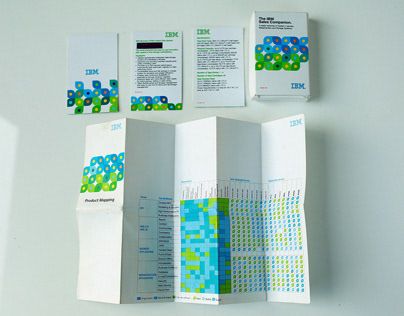 IBM - Ogilvy 2012 Graphic Design