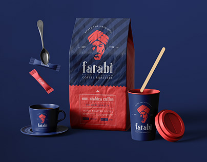 Farabi Coffee Roasters Branding & Packaging design