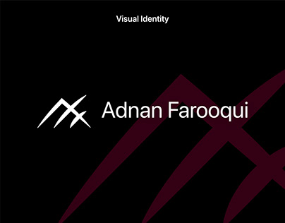 Adnan Farooqui - Personal Branding & Visual Identity