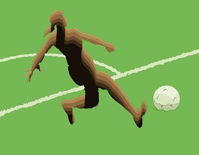 Daily Editorial Illustration: Female football strike