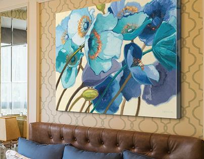 Great Big Canvas Room Settings - 2016