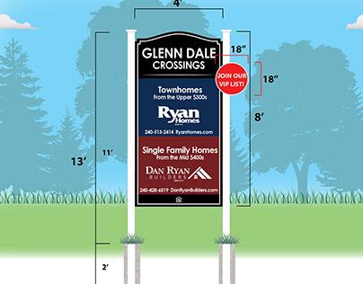 Glenn Dale Crossings Signage