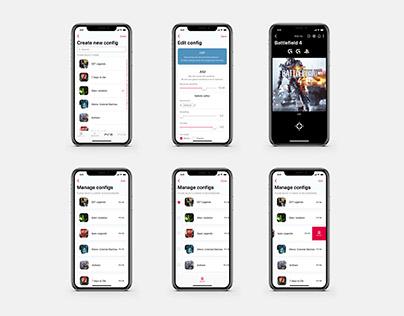 XIM APEX iOS app concept