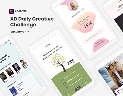 XD daily Creative Challenge January 2020
