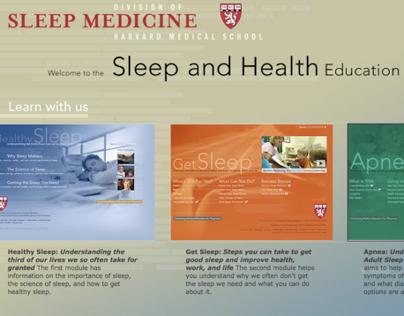 Understanding Sleep for Harvard Medical School