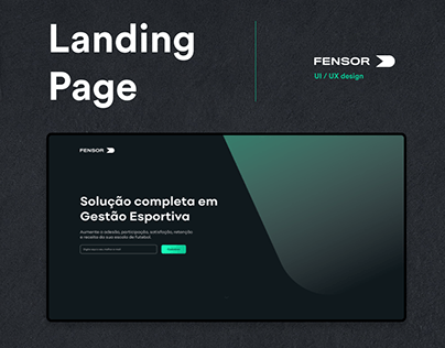 FENSOR - Landing Page