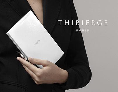 Thibierge Paris — Website design