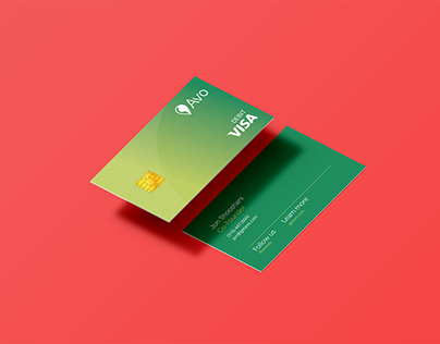 Avo Credit Card Asset Design