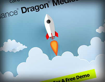 Dragon Medical One Landing Page