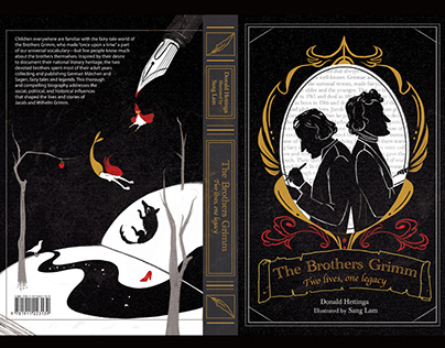 Brothers Grimm Book Cover Spread