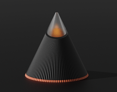 MOOD CONE - Mood light candle