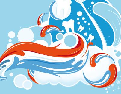Aquafresh Illustrations
