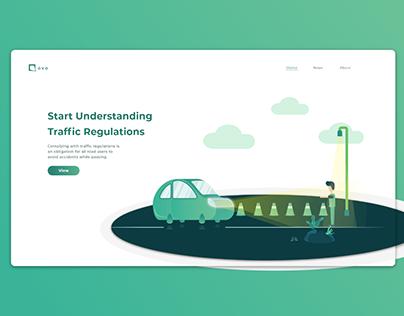 Traffic Landing Page