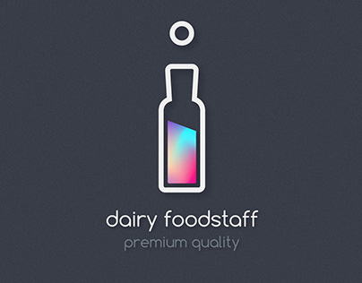 Premium dairy foodstaff Brand Identity & Package