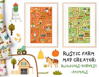 Rustic Farm Map Creator