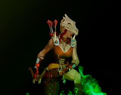 Dragon Girl Warrior