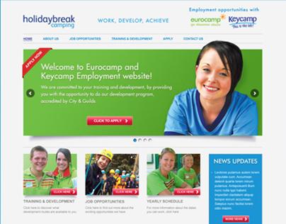 Holidaybreak recruitment website