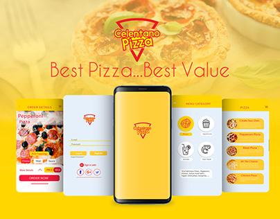 Celentano Pizza App UX/UI Design