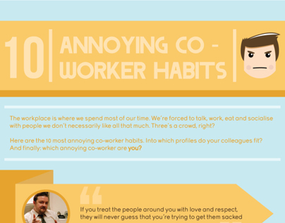10 Annoying Co-worker Habits