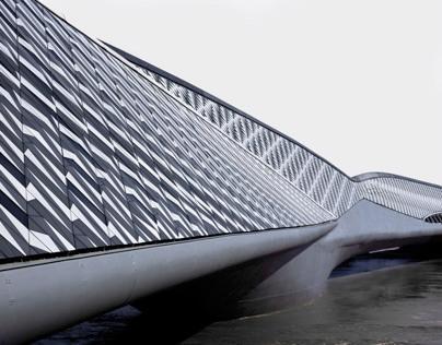 Bridge Pavilion for Expo 2008 in Zaragoza by Zaha Hadid