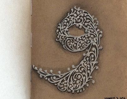 Ornamental Lettering Trilogy
